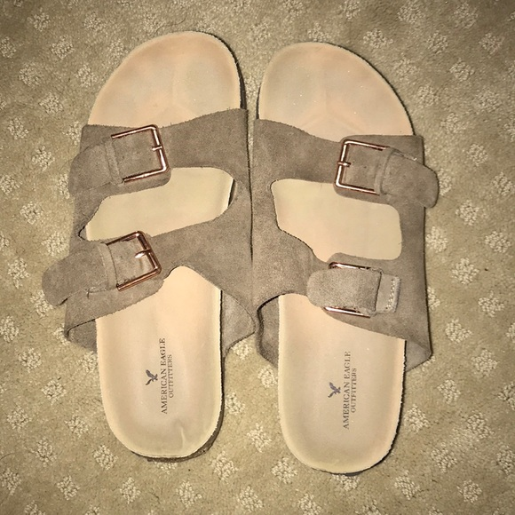 7f27a335fd12 American Eagle Outfitters Shoes - American eagle knock off Birkenstocks